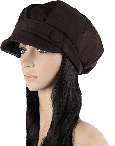 Lady Octagonal Cap Beret Newsboy Cap Ray Limpets Winter Hat Womens' Cap