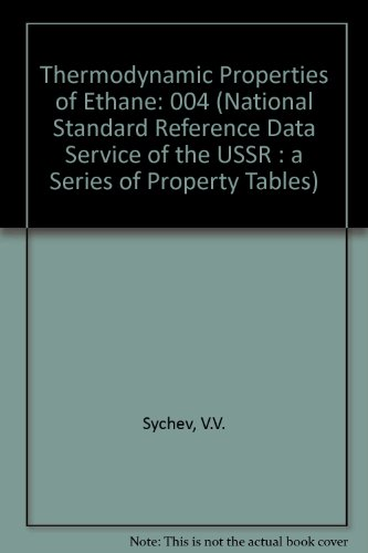 Thermodynamic Properties of Ethane (National Standard Reference Data Service of the USSR)