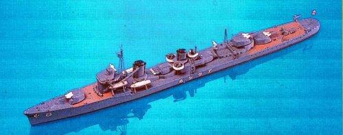 1/700 日本海軍 駆逐艦 朝潮 W30