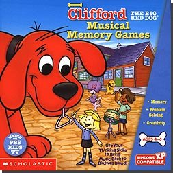 Scholastic Clifford Musical Memory Games 19 Entertaining Activities And Challenges Popular