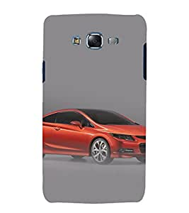 printtech Superfast Car Back Case Cover for Samsung Galaxy A8 / Samsung Galaxy A8 A800F