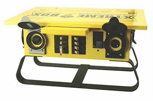Southwire 1970 Xtreme Box Straight Blade Portable Power Distributor (Tool Box Coleman compare prices)