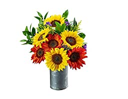 Happy Day Red and Yellow Sunflower Mix