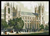 Westminster Abbey London cross stitch kit