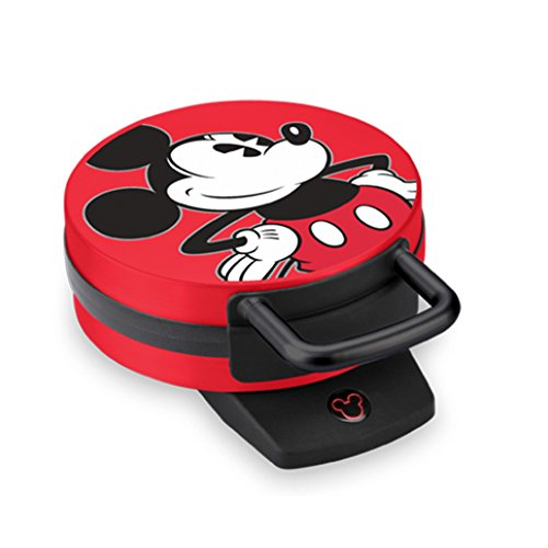 Disney DCM-12 Mickey Mouse Waffle Maker, Red (Mickey Mouse Waffles Maker compare prices)