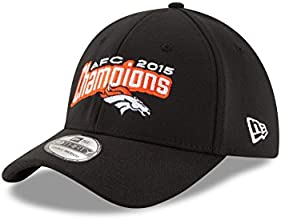 NFL Denver Broncos AFC Conference Championship 39THIRTY Stretch Fit Cap