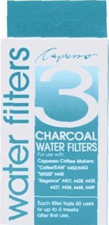 Capresso 3 Pack Charcoal Water Filters front-133503