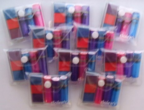Wholesale Lot of 10 Butterfly, Heart, + Star Stamp Sets