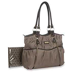 buy carter 39 s double zip diaper bag taupe online at low prices in india. Black Bedroom Furniture Sets. Home Design Ideas