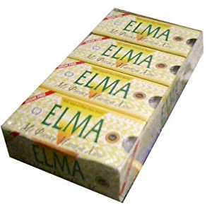 Mastic Gum SUGAR FREE (ELMA) CASE 20x10 pieces: Amazon.com ...