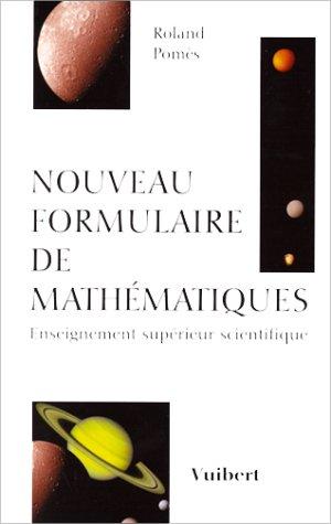 Nouveau formulaire de mathématiques