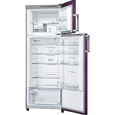 Bosch KDN43VR30I Frost-free Double-door Refrigerator (347 Ltrs, 3 Star Rating, Violet)