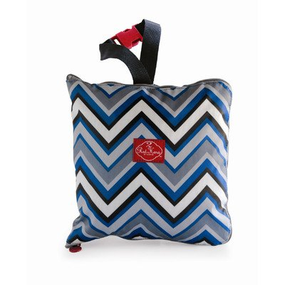 Lowest Price! 2 Red Hens Shopping Cart Cover, Blue Chevron