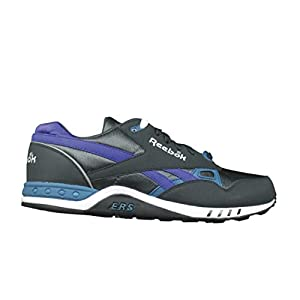 Reebok ERS 2000 Mens Running Shoe 10 Gravel-Emerald-Purple