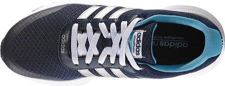 Adidas Performance Women's Cloudfoam VS City W Running Shoe, Collegiate Navy/Matte Silver/Vapor Blue Fabric, 7.5 M US