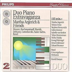 Duo Piano Extravaganza: Music by Mozart, Rachmaninov, Bartok, Debussy, Lutoslawski, Saint-Saens, Ravel