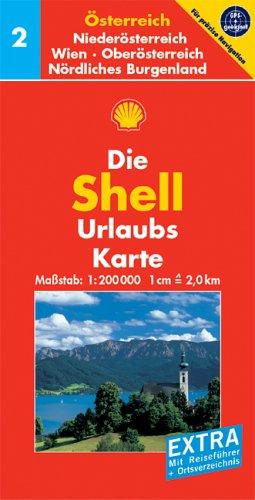 Shell Urlaubskarte Österreich 2. Niederösterreich,