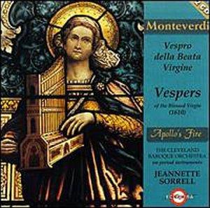 Monteverdi: Vespro della Beata Virgine / Apollo's Fire
