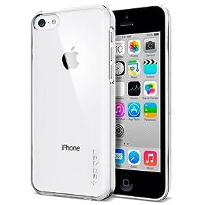 Amazon.com: iPhone 5C Case, Spigen® [Ultra Fit] +Screen ...