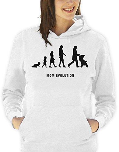 Sudadera-con-capucha-da-de-la-madre-Evolution-mom-hombre-mujer-todas-las-tallas-S-M-L-XL-Camiseta-by-tshirteria-XXL-blanco-TallaSmall-donna