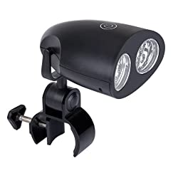 10LED BBQ Grill Light Touch-Sensitive Light with Mount Battery Powered
