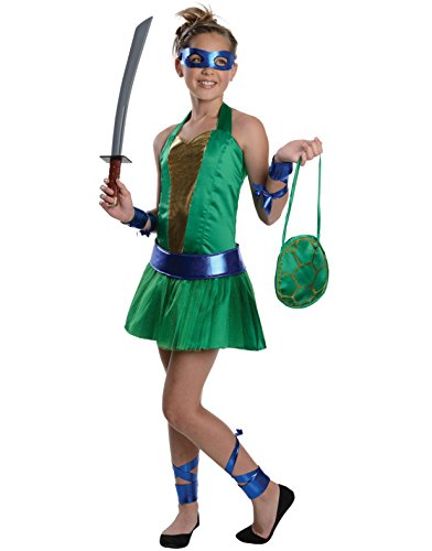 Teenage Mutant Ninja Turtles Sassy Tween Girl's Leonardo Costume