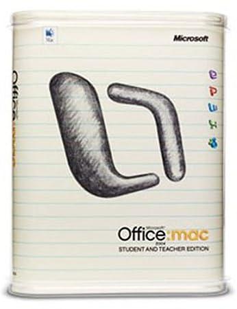 Office 2004 Mac Edition Etudiants