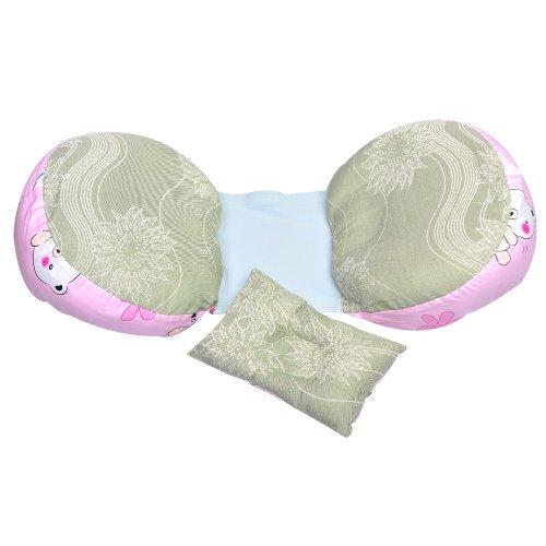 Leyun Piggy Bamboo Fiber Pregnant Women Pillow Waist Pillow Series (Pink Piggy ) front-855626