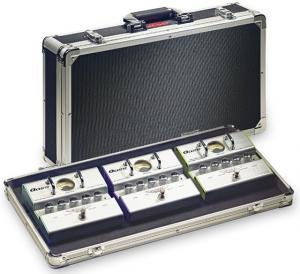 ABS Case for Guitar Effect Pedals Pedals Not Included Int Dim HxWxD 255 X 500 X 90 mm / 10 X 197 X 35 in