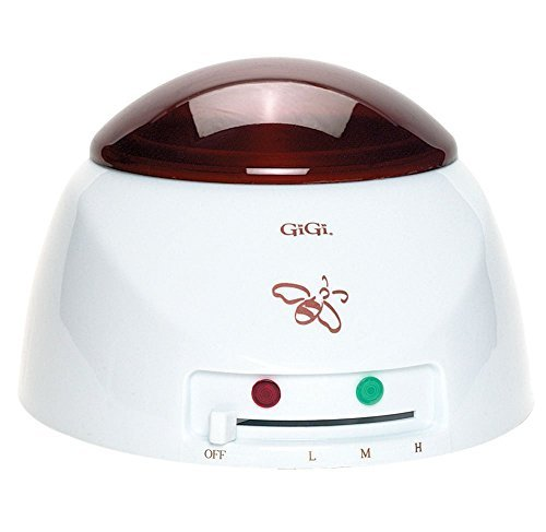 Gigi Professional Hair Removal Combo Kit, Includes Wax Warmer, with Temperature Control Knob, and See-Through Cover, and On/Off Indicator, with 14 Oz. All Natural Espresso Hair Remover Wax, and Natural Muslin & Spatula Combo with BONUS FREE Microwave Hair Waxing Kit (Gigi Wax Starter compare prices)