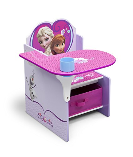 Delta Children Chair Desk With Storage Bin, Disney Frozen (Frozen Table And Chair Set compare prices)