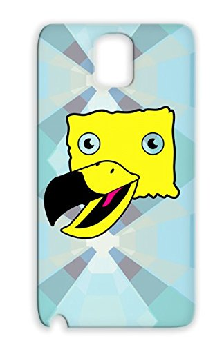 Weird Yellow Bird Strange Shirt T Shirts Funny Street Cool Smile Friendly Baby Birds Funky Fun Family Sesame Bird Yellow Tpu Tearproof For Sumsang Galaxy Note 3 Case front-916070