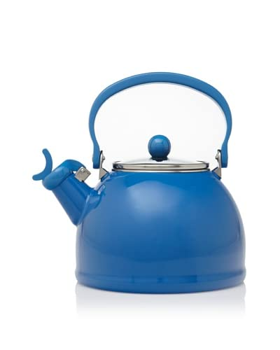 Reston Lloyd Calypso Basics Whistling Teakettle with Glass Lid