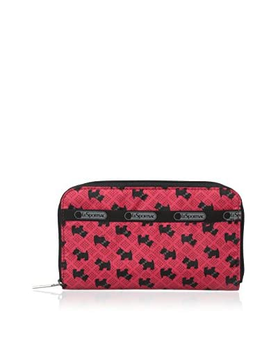 LeSportsac  Women's Lily Wallet, Scotty Dog Red