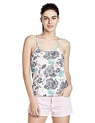 Roxy Women's Body Blouse Top (ERJKT03057-WCD6_White _X-Small)