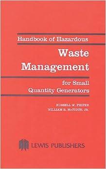hazardous waste management book pdf