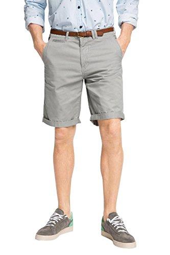 ESPRIT Chino Pantaloni Corti da Uomo, colore grigio (Light Grey 040), taglia 32