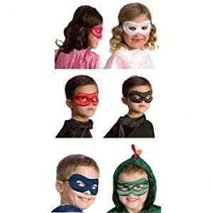 Little Adventures Hero Mask - Black/Red