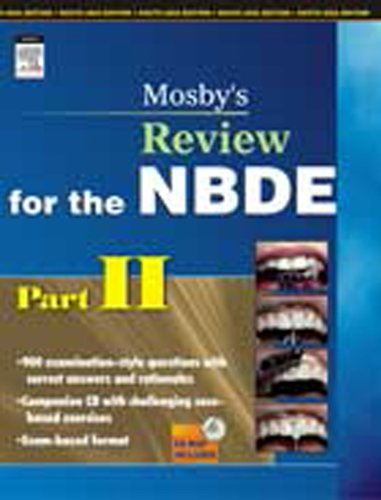 Mosby's Review for the NBDE, Part II (Mosby's Review for the Nbde: Part 2 (National Board Dental Examination)) (Pt. 2) (Nbde Ii compare prices)