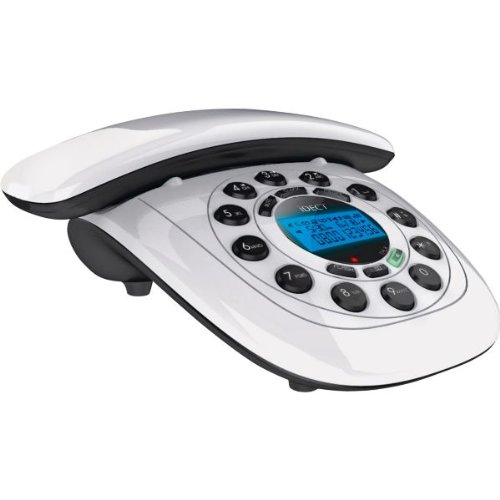 Heartwarming iDECT Carrera Air Cordless Telephone - Single with accompanying HSB Microfibre Cleaning Glove Reviews