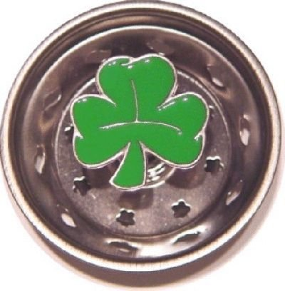 Lucky Irish Shamrock Sink Strainer Drain Kitchen Decor