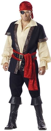 Pirate Costume - Medium - Chest Size 38-40