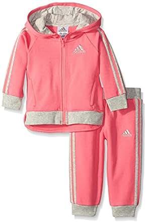 Amazon Adidas Baby Girls Fast Fleece Set Clothing