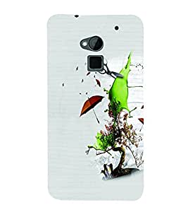 PrintVisa Cute Cartoon Save Nature 3D Hard Polycarbonate Designer Back Case Cover for HTC One Max