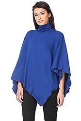 KAARYAH - Blue Full Sleeves Relaxed Fit Cardigan