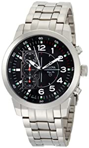 Bulova Men's 96A116 Marine Star Black Dial Watch from Bulova