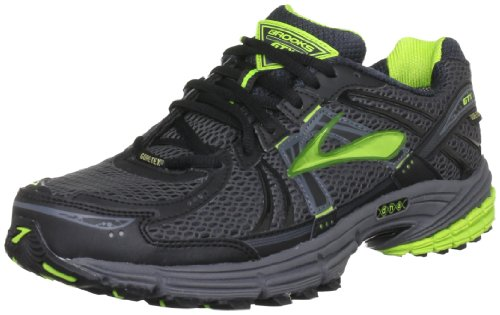 Brooks Men's Adrenaline Gore Tex M Black/Lime Trainer 1101241D332 11 UK, 12 US