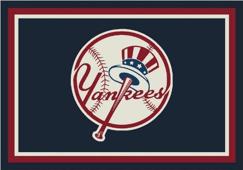 Milliken New York Yankees 533324-1025 Blue 3 x 4 - Area Rug