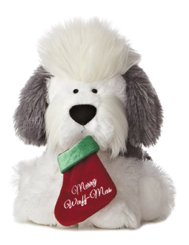 Aurora World Merry Wuff-Mas Dog Plush Toy, 11""