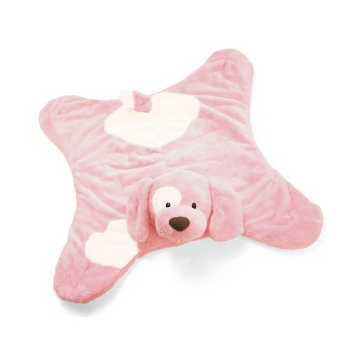 "Gund Dog ""Spunky"" Comfy Cozy - Pink (Discontinued by Manufacturer)"